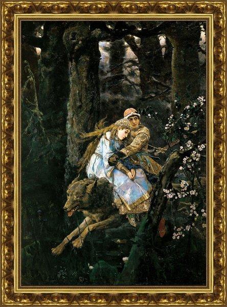 Картину иван царевич на сером волке
